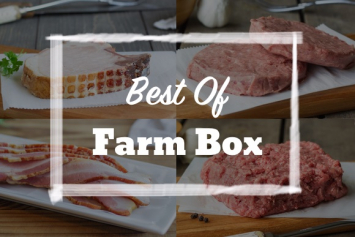Best of Farm Box + 2 FREE Bacon Infused Burgers
