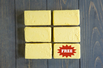 Buy 5 Get 1 Free Seven Sons 100% Grassfed Salted Butter