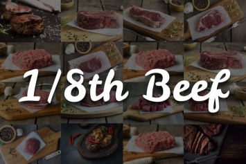 1/4 Beef Box 71 Lbs