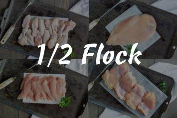1/2 Flock Box 64 Lbs