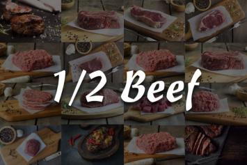 1/2 Beef Box 142 Lbs