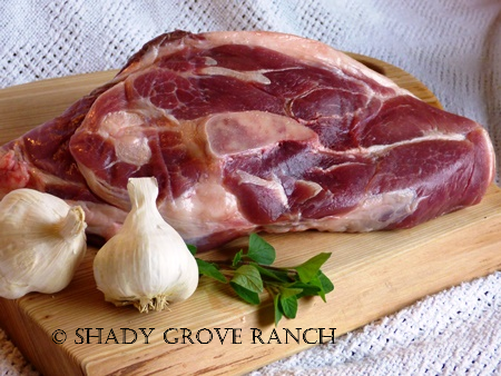 Pork Shoulder Roast, Medium