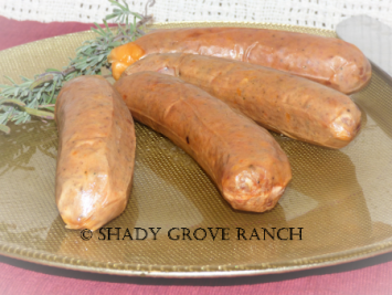 Pork Smoked Andouille Sausage Links - LIMITED EDITION