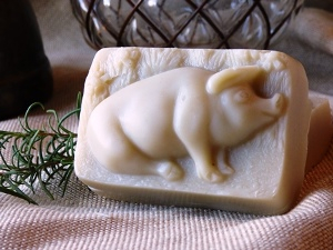 Little Pig Lavender Soap