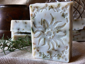 Rosemary Mint Soap - Rectangle