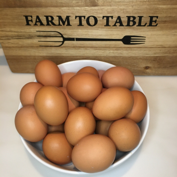 Dozen Large Pastured Eggs