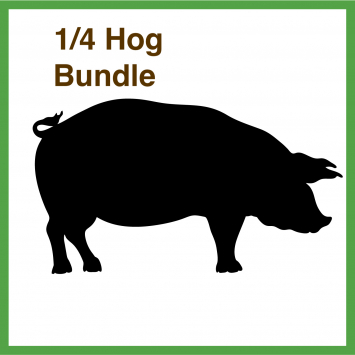 1/4 Hog Bundle