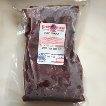 Ground Beef-Battle Creek Ranch 2 Pound