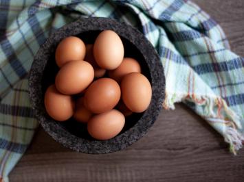 Dozen Large Pastured Eggs