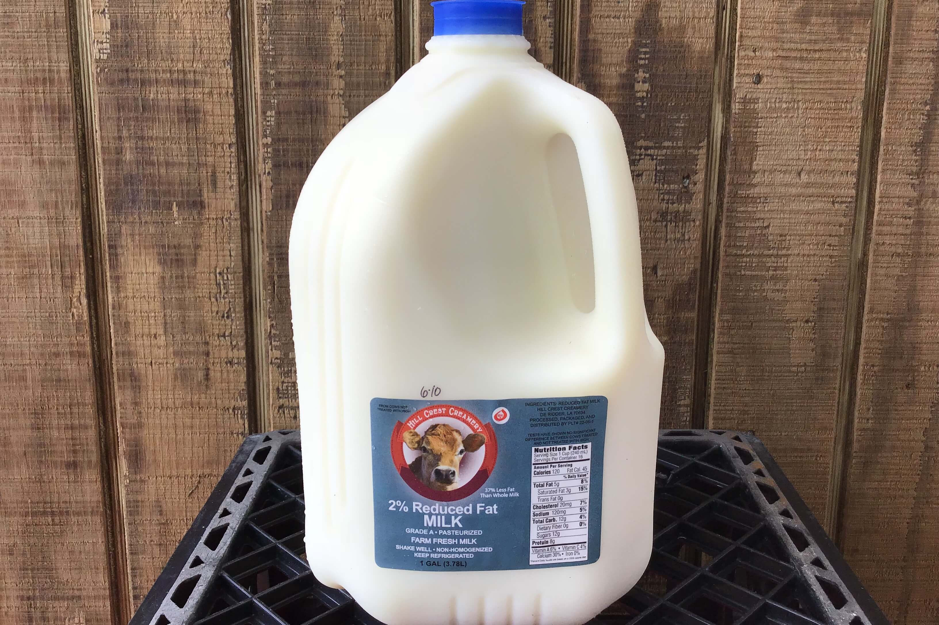 2% Reduced Fat Milk Gallon