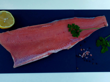Keta salmon filets