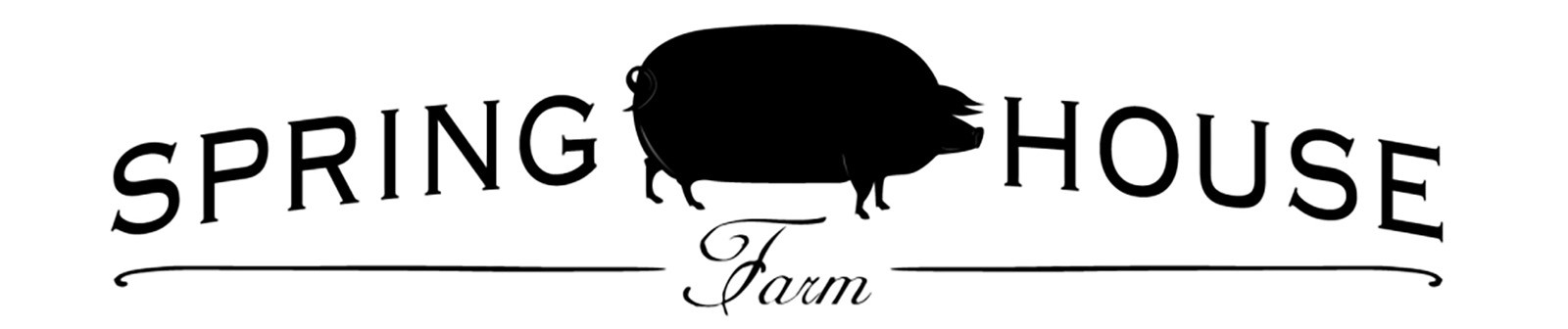 Spring House Farm and Farm Store Logo