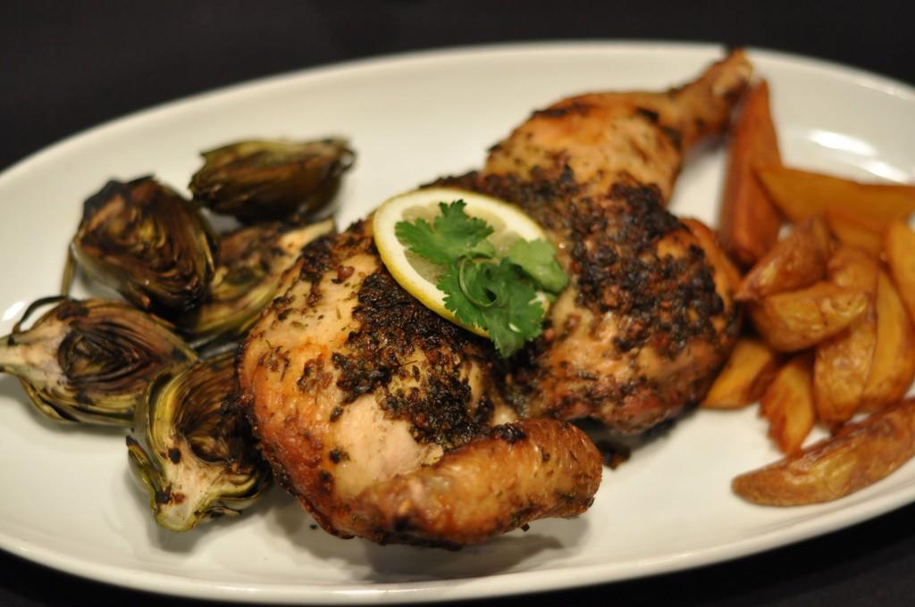 Chicken, Half