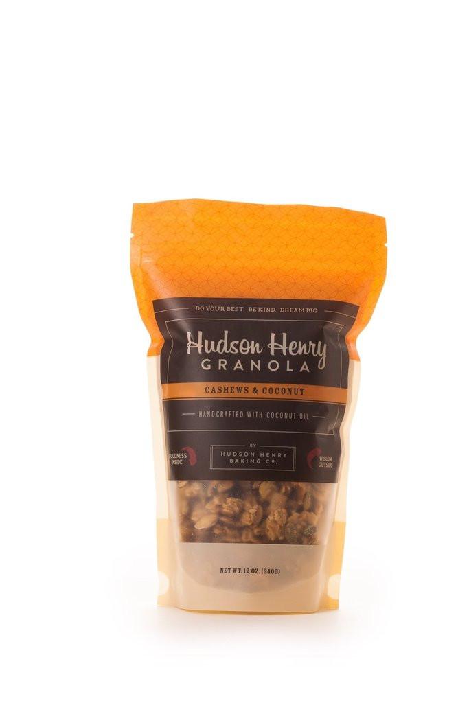 Henry Hudson Cashews and Coconut Granola