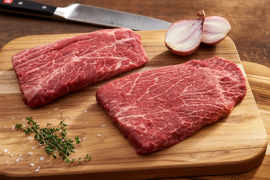 Flat Iron Steak, Beef