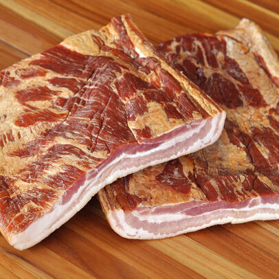 Bacon, Uncut Slab