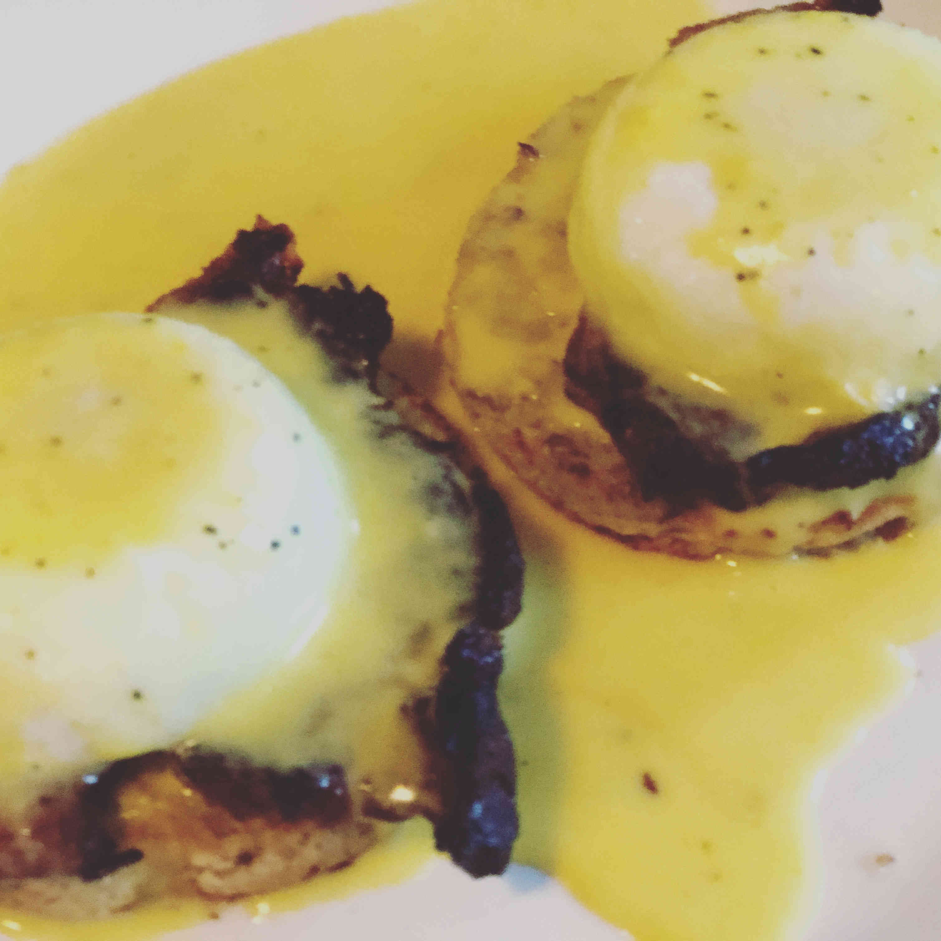 Eggs Benedict (a household favourite)