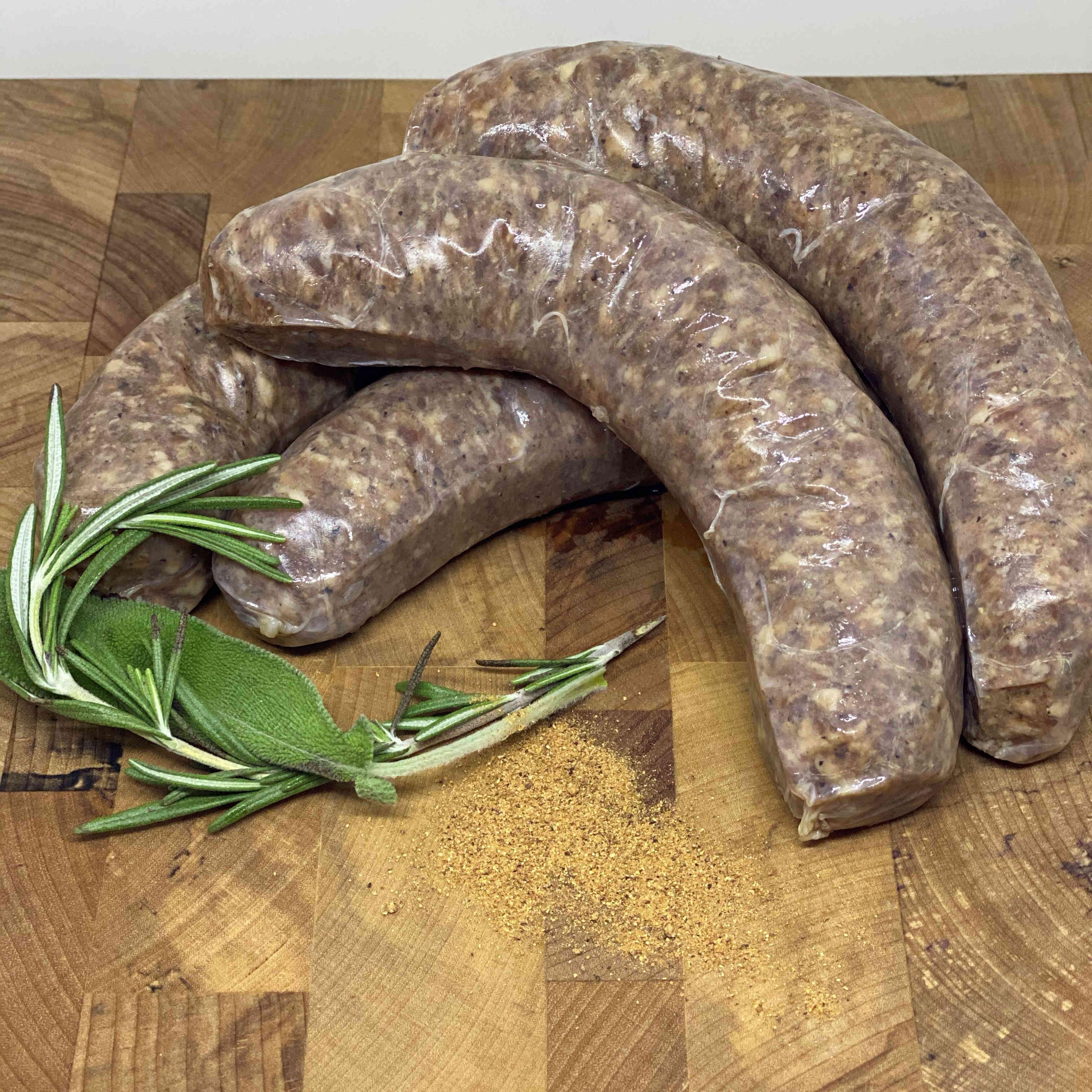 Pork Sausage - Sage & Nutmeg (4 per pack)