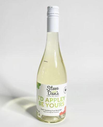 Steve and Dan's B.C. Sparkling Juice - Apple