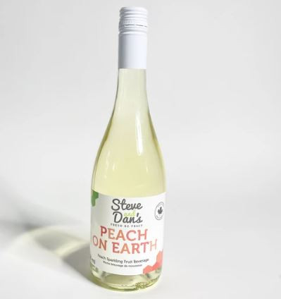 Steve and Dan's B.C. Sparkling Juice - Peach