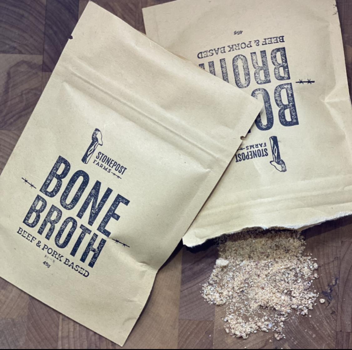 Bone Broth Powder - Seasoned