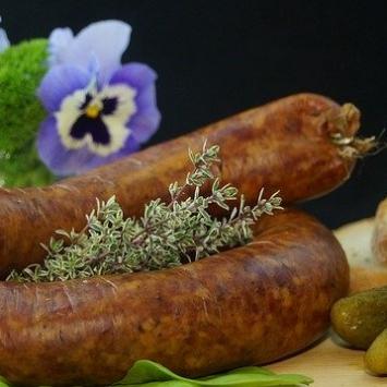 Pork Sausage - Garlic Ring