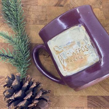 Handmade Farm Mug - Purple (short)