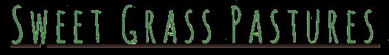 Sweet Grass Pastures Logo