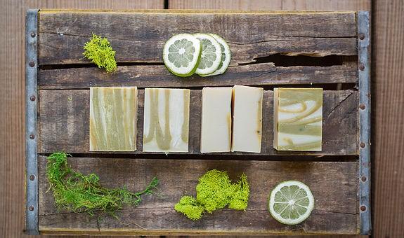 Keller Works Lemon-Lavender soap