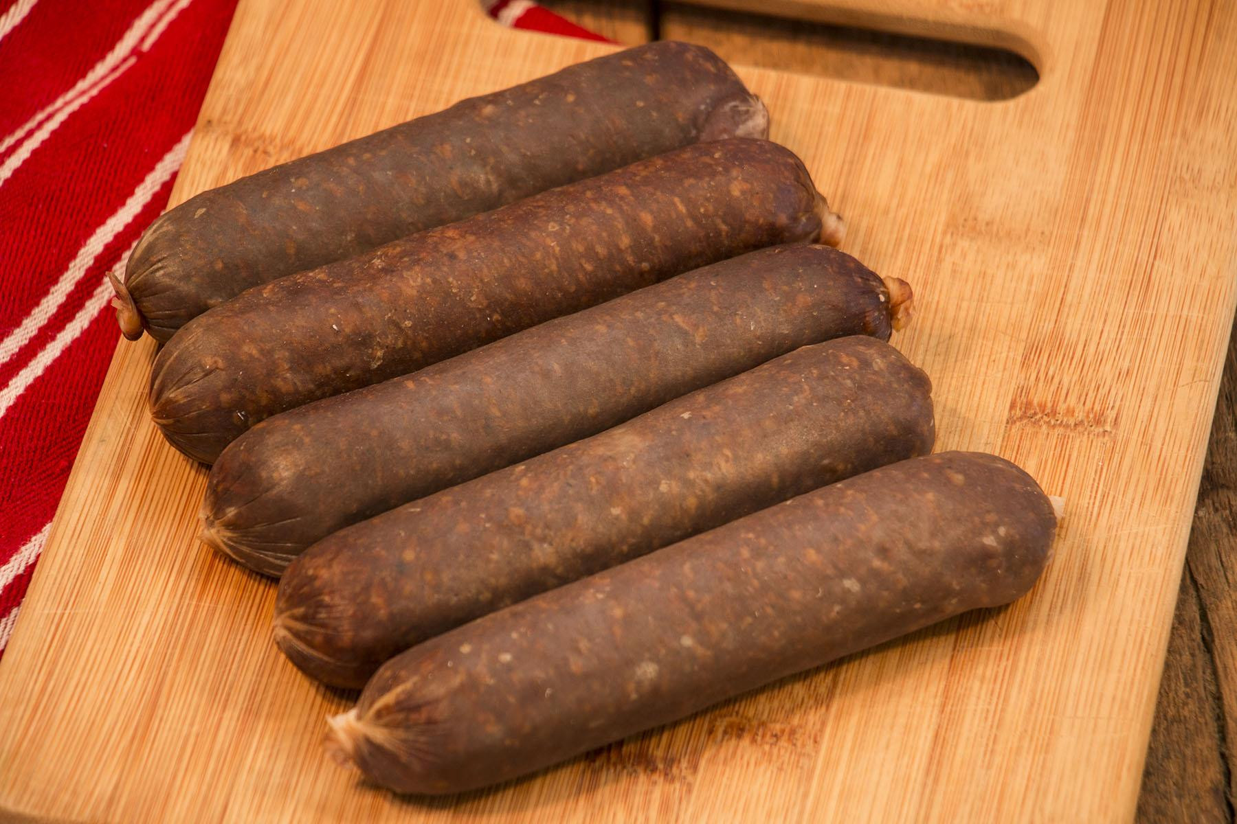 Old-Fashioned Beef Hot Dogs