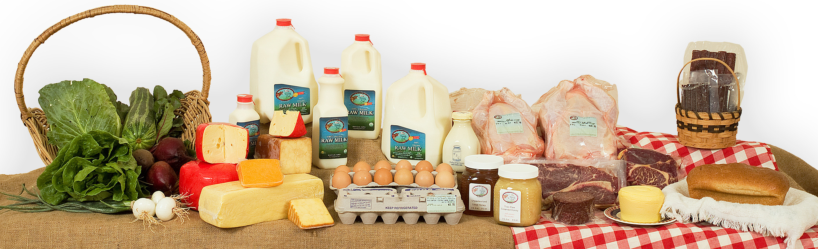 The Family Cow organically grown natural foods available for home delivery