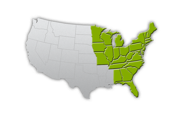 The Family Cow organic foods delivered to these areas!