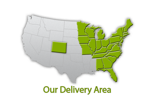Family Farmer Direct home delivery area map