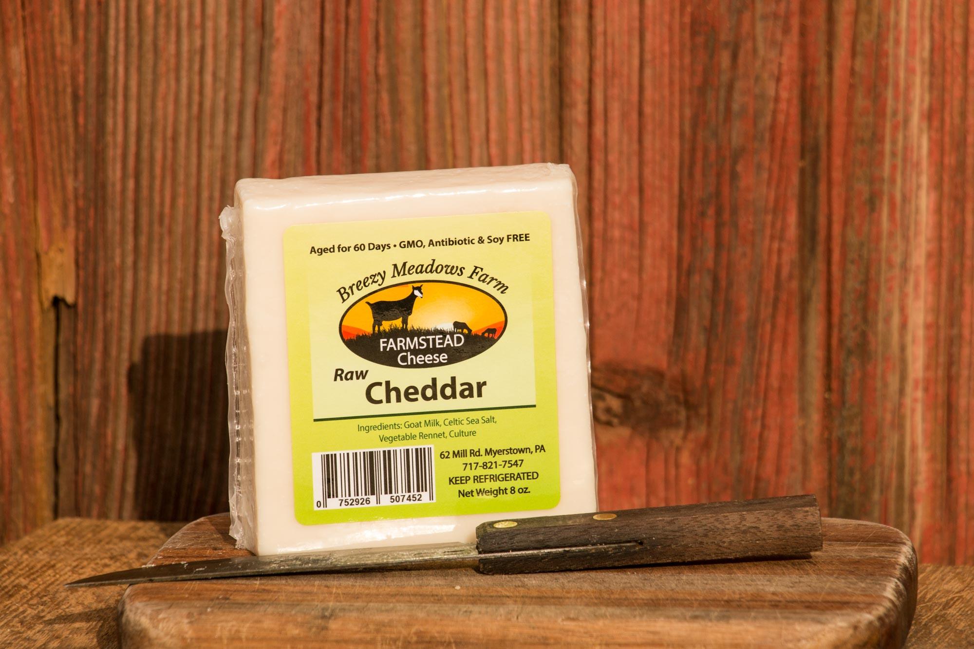 Goat Cheese - Raw Cheddar