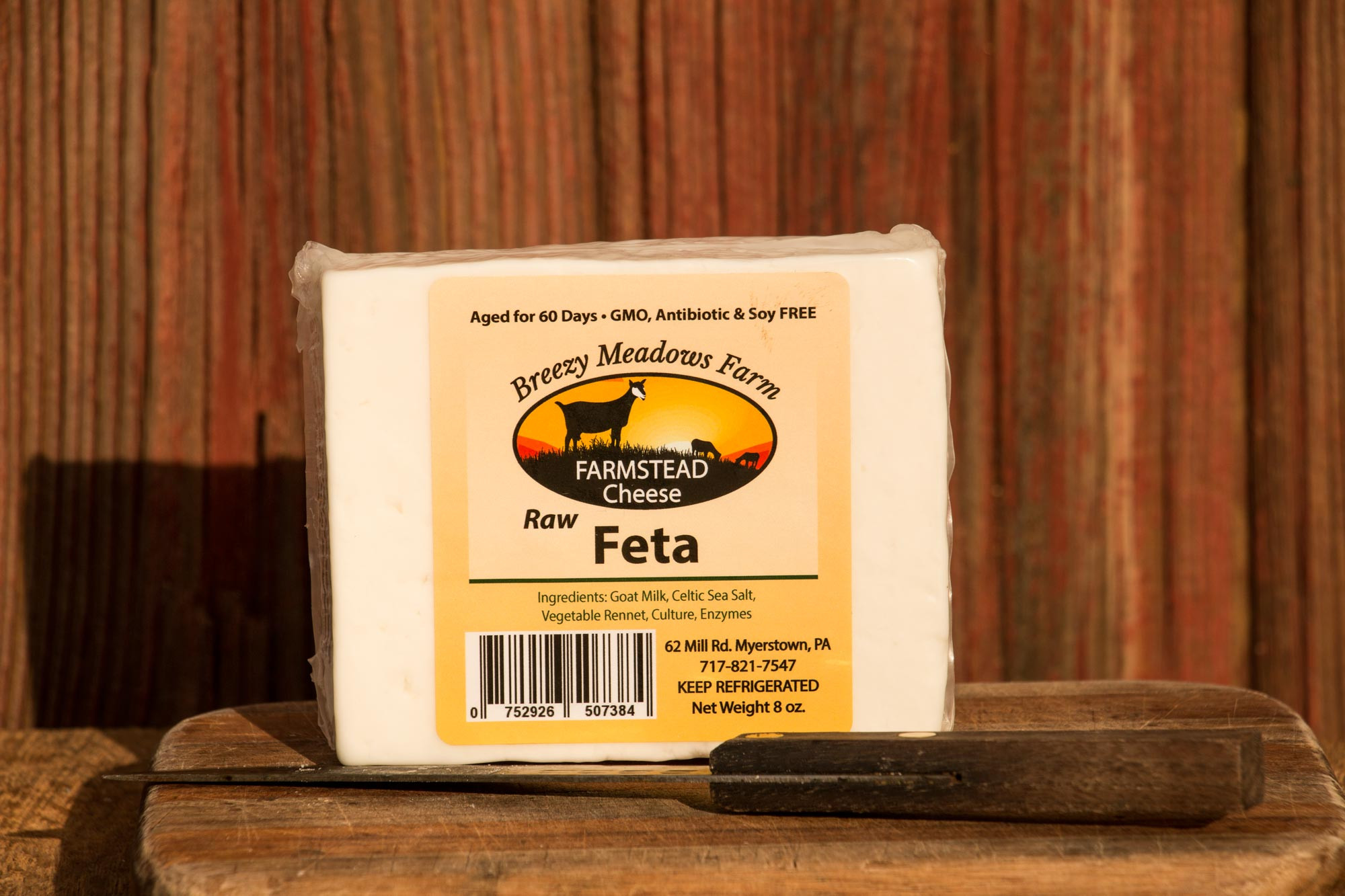 Goat Cheese - Raw Feta