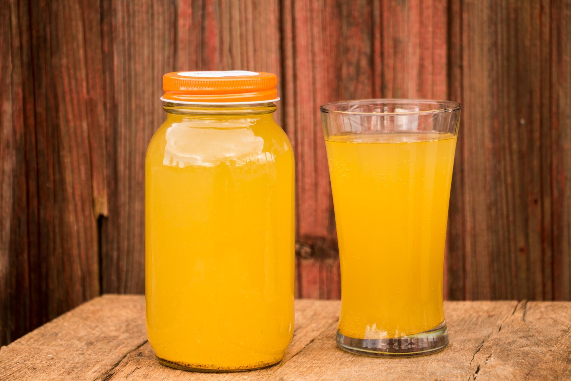 Ginger/Turmeric Water Kefir