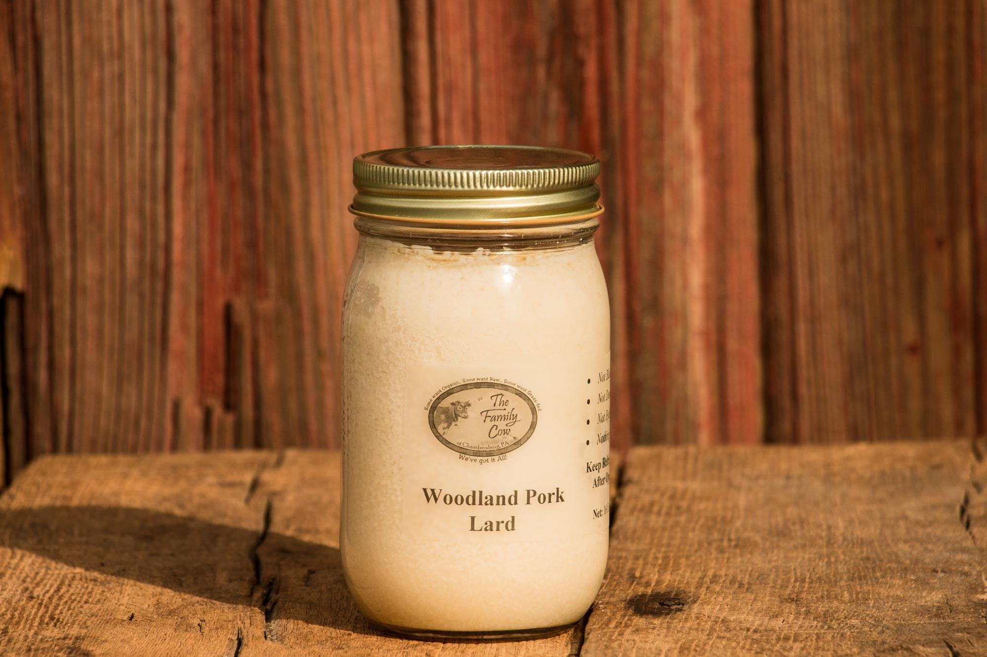 Case - Woodland Pork Lard