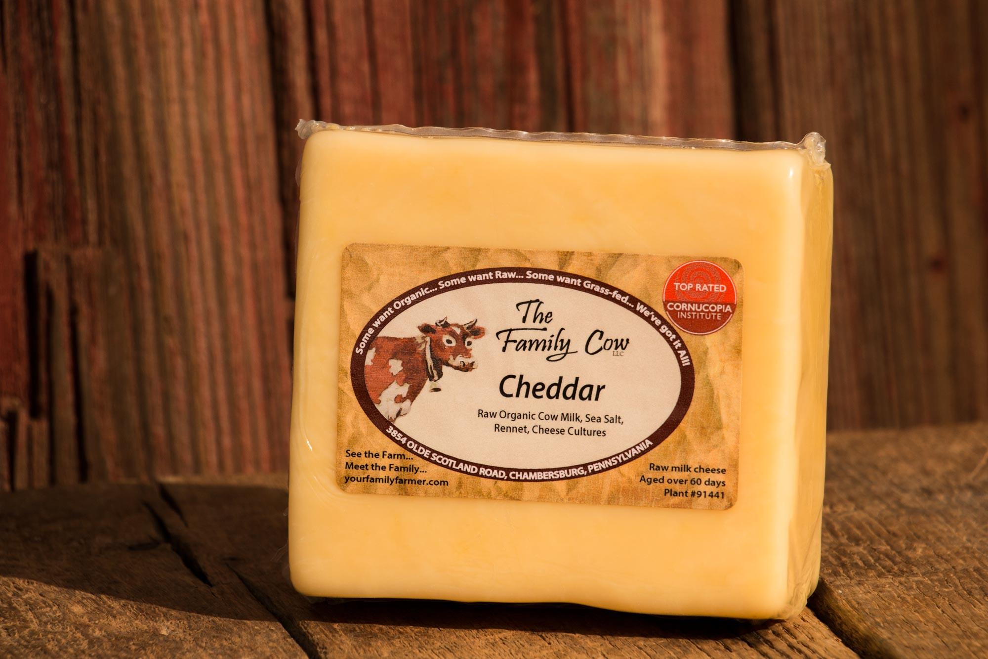 Cheddar - 1 lb. avg. Block