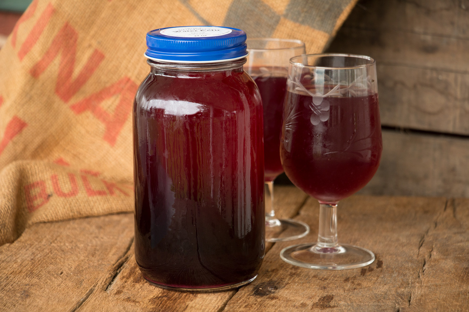 Wild Blueberry Water Kefir