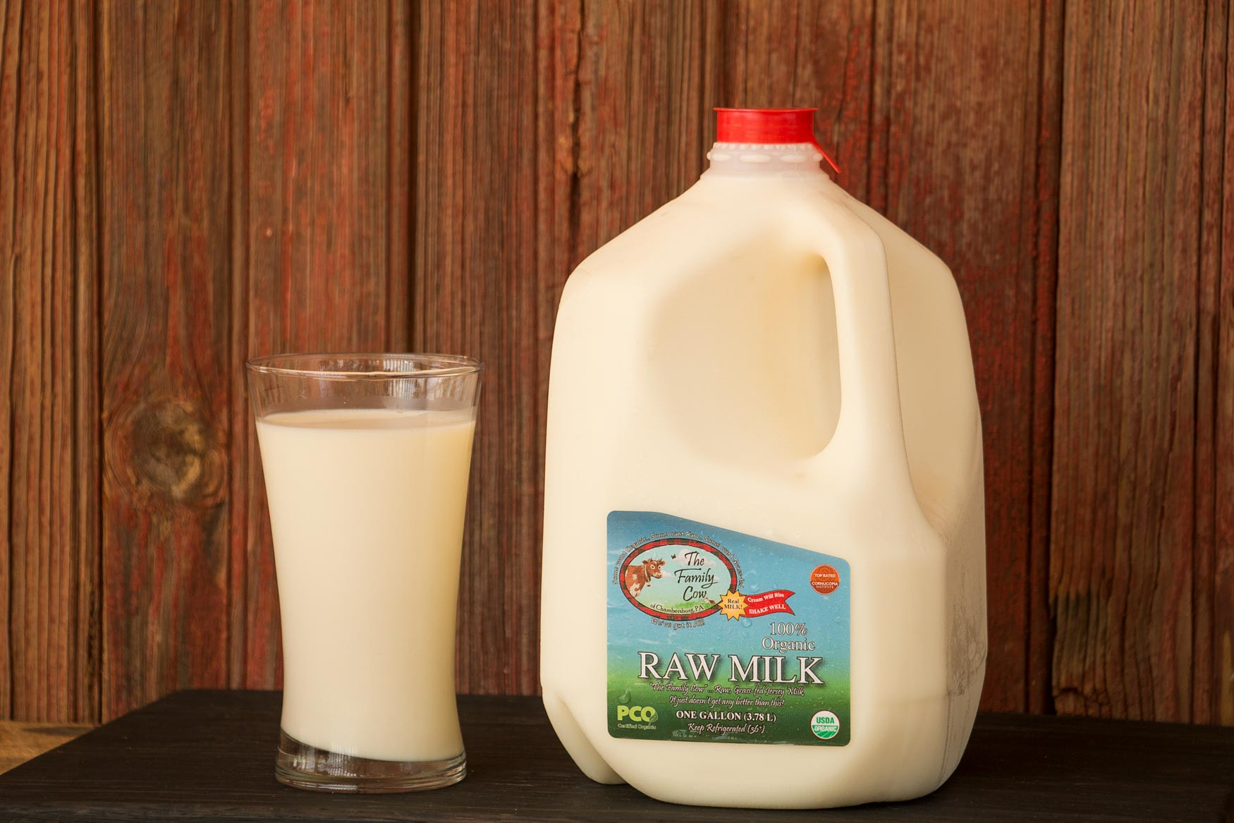 Gallon Raw Cow Milk