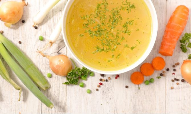 Soup Stock Recipe - By Barry Schneider