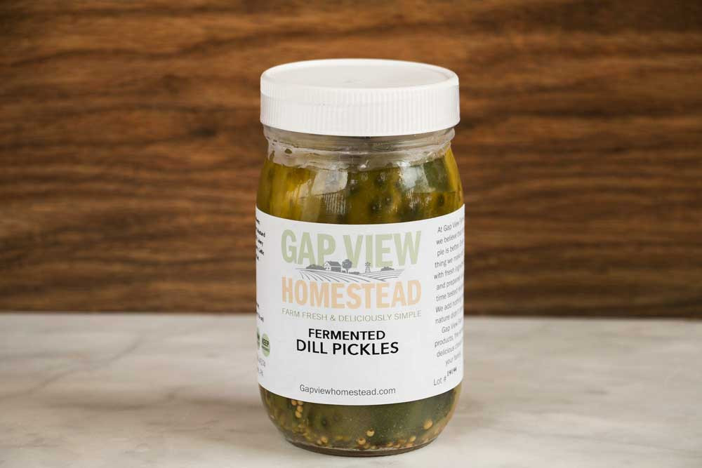 Dill Pickles - Lacto Fermented