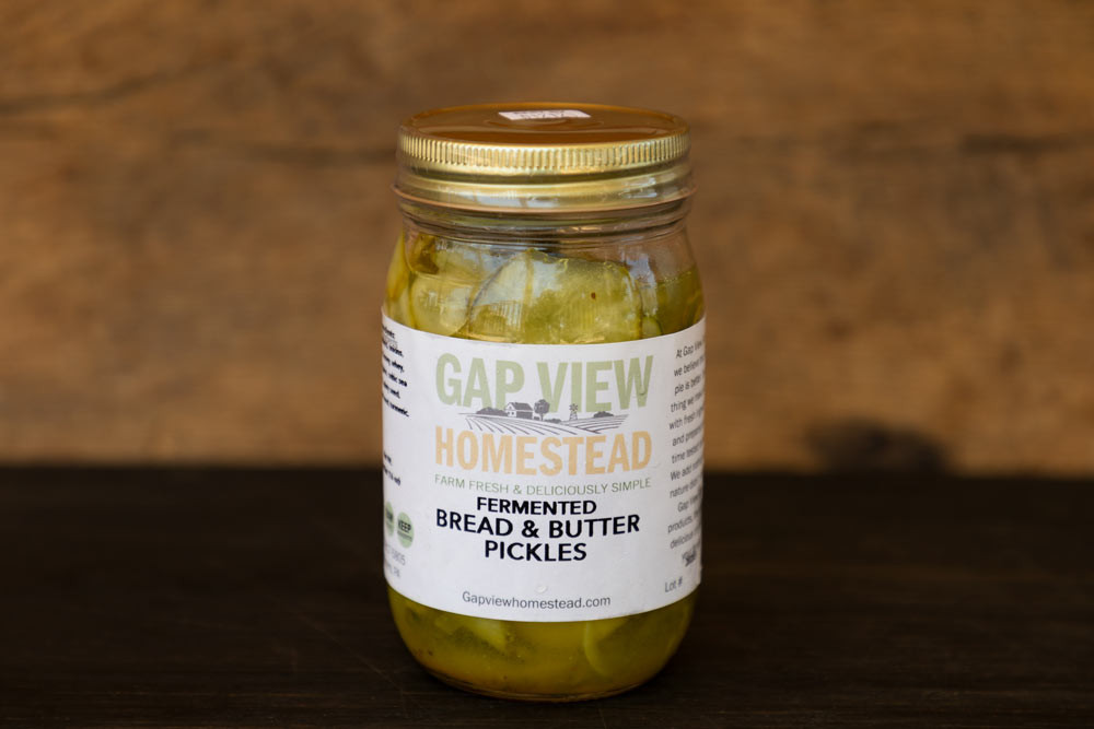 Bread & Butter Pickles - Lacto Fermented