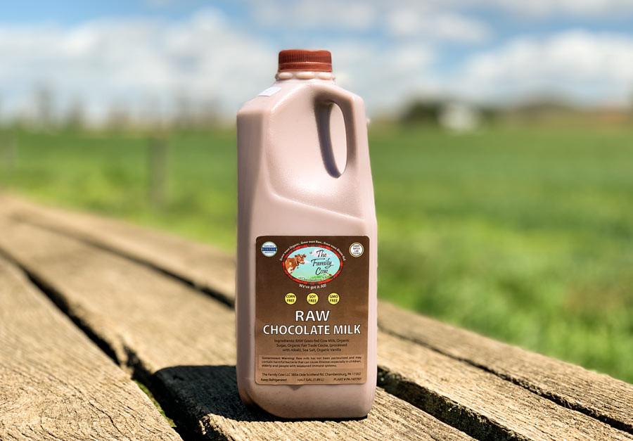 Raw Chocolate Milk - Frozen