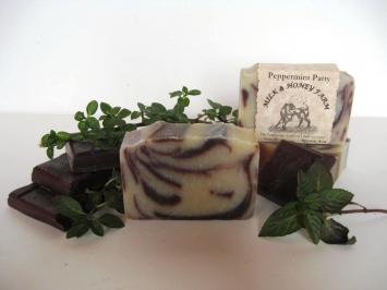 Goat Milk Soap - Peppermint Patty - 4 oz. Bar