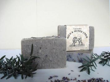 Goat Milk Soap - Soft Lavender - 4 oz. Bar