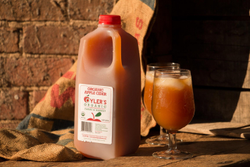 Organic Apple Cider - Half Gallon