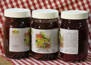 Beet Kvass - Lacto Fermented Beverage