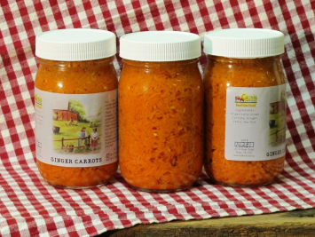 Ginger Carrots - Lacto Fermented