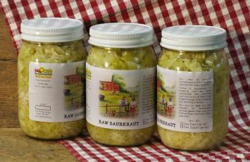 Sauerkraut - Lacto Fermented